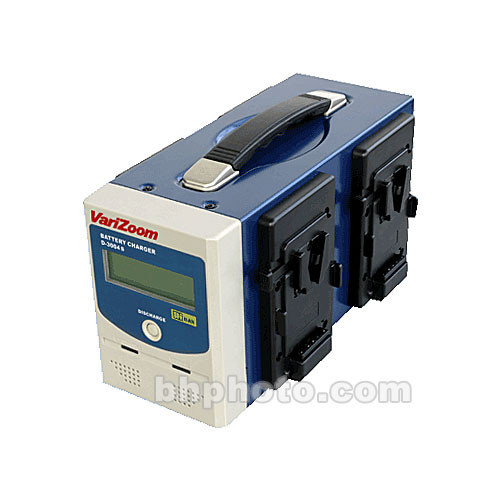 VariZoom D-3004S Independent Battery Charger