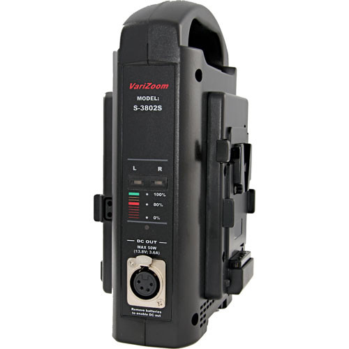 VariZoom SC-3802S Battery Charger with Power Supply