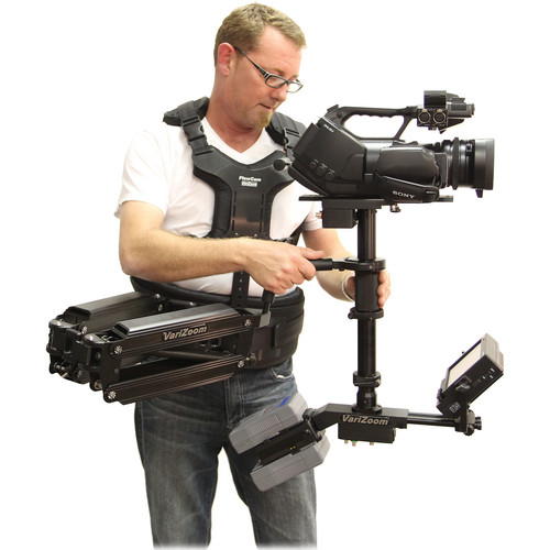 VariZoom VZAVIATORMX-HD-AB-C2 Dual AV-MX Arm Stabilizer for Cameras (5-18 lb)