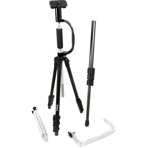 VariZoom CrossFire FP Multimode Stabilizer and Tripod System (Low Flow Kit)