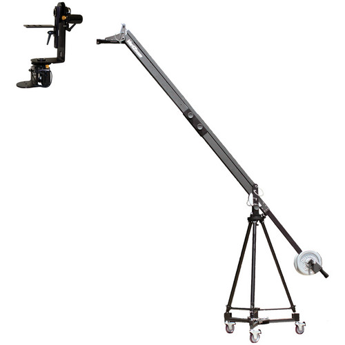 VariZoom QuickJib Extension Kit with TCR100 Tripod, DCR100 Dolly & MC50 Motorized Head