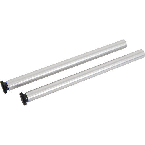 "VariZoom VZ-R1003 Set of Two 15mm x 8"" Aluminum Support Rods"