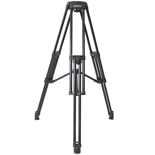 VariZoom VZ-TC100A Aluminum Video Tripod Legs (100mm Bowl, Black)