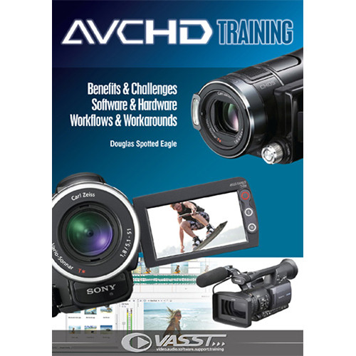 Vasst DVD: AVCHD Training with Douglas Spotted Eagle