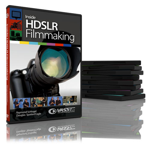 Vasst DVD: Inside HDSLR Filmmaking - Create Stunning DSLR Imagery with Unlimited Possibilities by Raymond Schlogel, Douglas Spotted Eagle