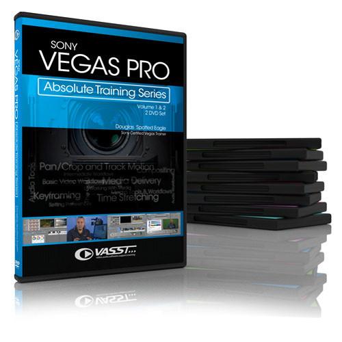 Vasst Sony Vegas Pro: Absolute Training Series (2 Disc Set)