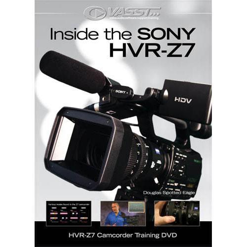 Vasst DVD: Inside the Sony HVR-Z7: Camcorder Training by Douglas Spotted Eagle