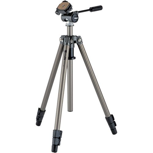 Velbon Sherpa 200R Tripod with PH-157Q 3-Way, Pan-and-Tilt Head