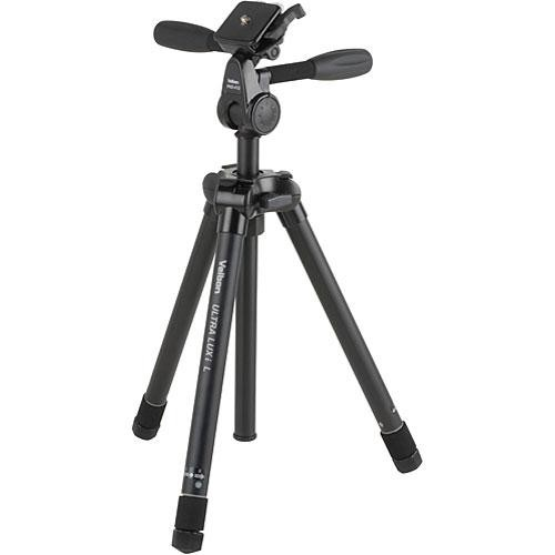 Velbon Ultra LUXi-L Tripod with PHD-41Q 3-Way Pan/Tilt Head