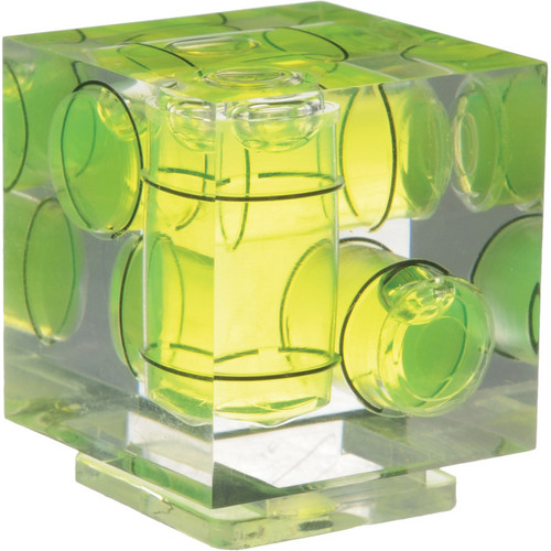 Vello Three-Axis Hot-Shoe Bubble Level