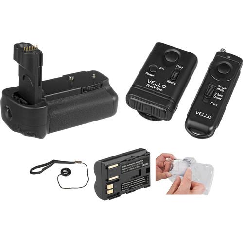 Vello Accessory Kit for Canon 50D