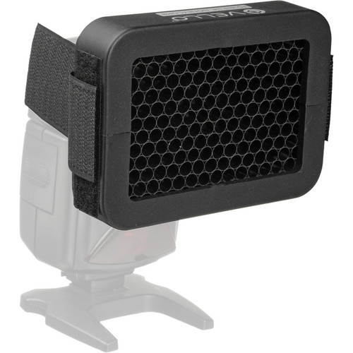 """Vello 1/4"""" Honeycomb Grid for Portable Flash"""