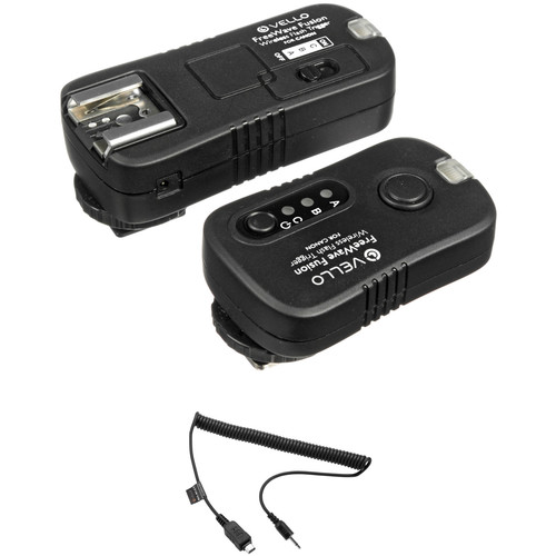 Vello FreeWave Fusion Wireless Flash Trigger & Remote Kit (Select Olympus & Canon)