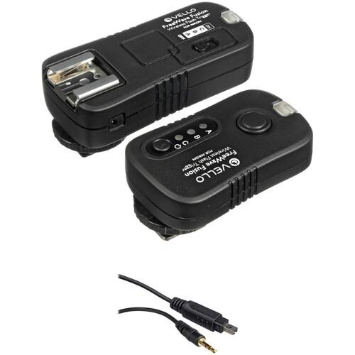 Vello FreeWave Fusion Wireless Flash Trigger & Remote Control Kit (for Nikon DSLR, Incl. D70s & D80)