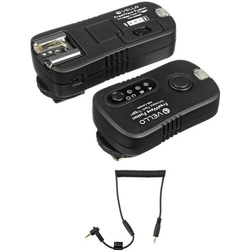 Vello FreeWave Fusion Wireless Flash Trigger & Remote Control Kit (Panasonic & Canon)