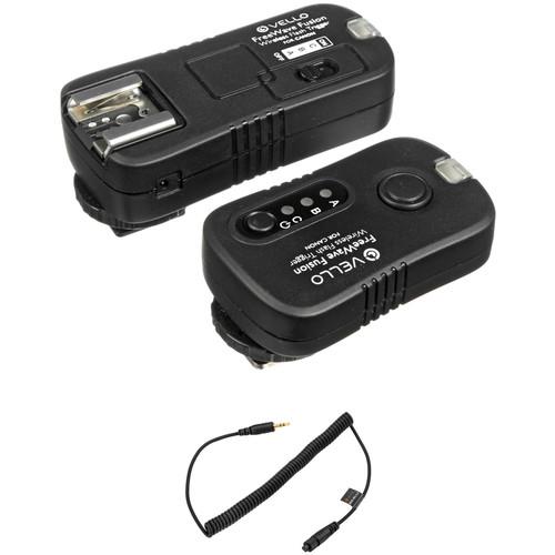 Vello FreeWave Fusion Wireless Remote Flash Trigger Kit (Canon & Select Olympus)