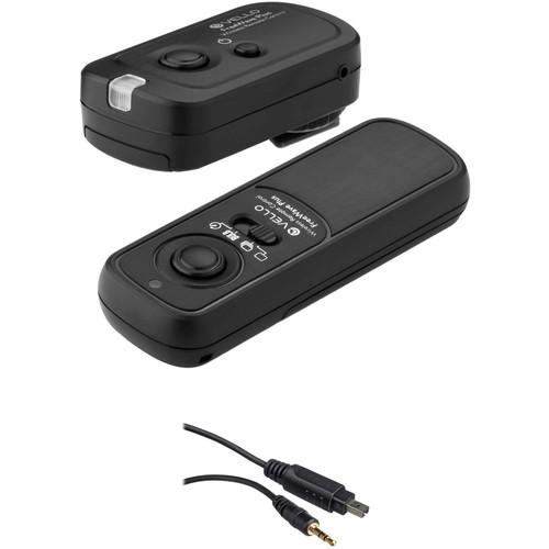 Vello FreeWave Plus Wireless Remote Shutter Release 2.4GHz (For All Nikon DSLR)