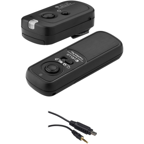 Vello FreeWave Plus Wireless Remote Shutter Release 2.4GHz (For All Nikon DSLR)