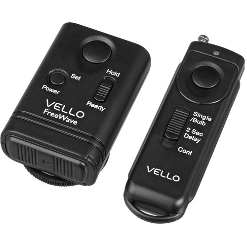 Vello FreeWave Wireless Shutter Release Remote for Nikon, Select Fuji & Kodak Kit
