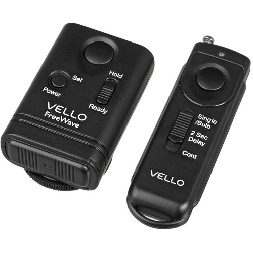 Vello FreeWave Wireless Remote Shutter Release for Nikon and Olympus Kit
