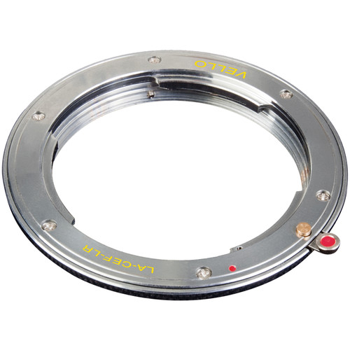 Vello Lens Mount Adapter - Leica R Lens to Canon EOS Camera