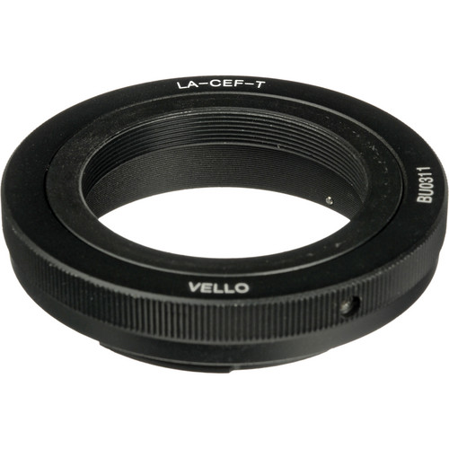 Vello T-Mount Lens to Canon EF/EF-S-Mount Camera Lens Adapter