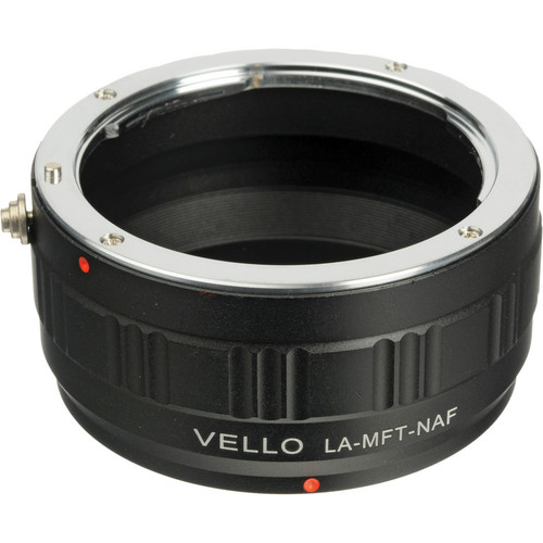 Vello Lens Mount Adapter - Nikon F Mount Lens to Micro 4/3 Camera