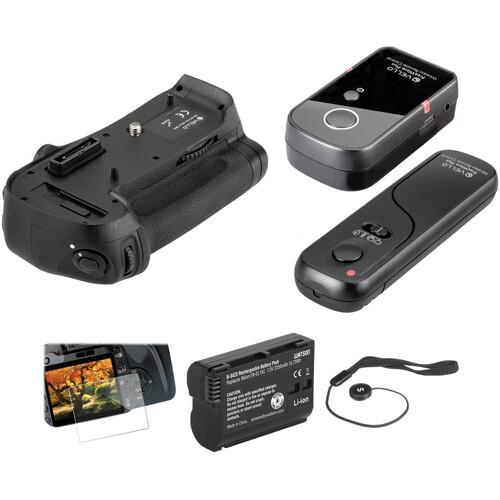 Vello Nikon D800/D800E & D810 Accessory Kit