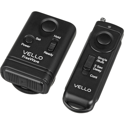 Vello FreeWave Wireless Remote Shutter Release for Canon w/3-Pin Connection