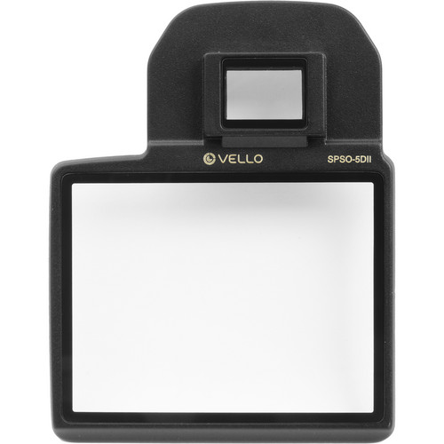 Vello Snap-On Glass LCD Screen Protector for Canon 5D Mark II