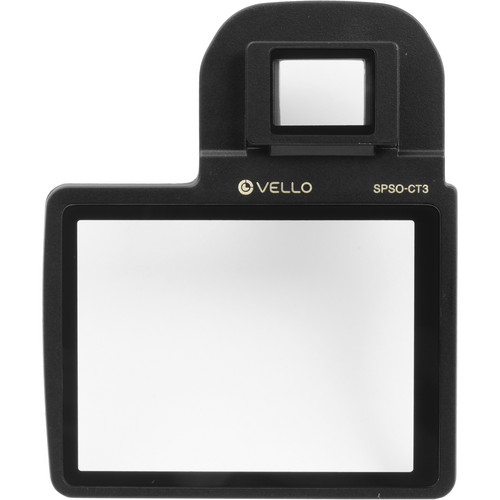 Vello Snap-On Glass LCD Screen Protector for Canon T3