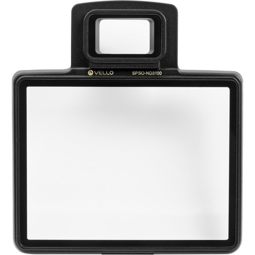 Vello Snap-On Glass LCD Screen Protector for Nikon D3100