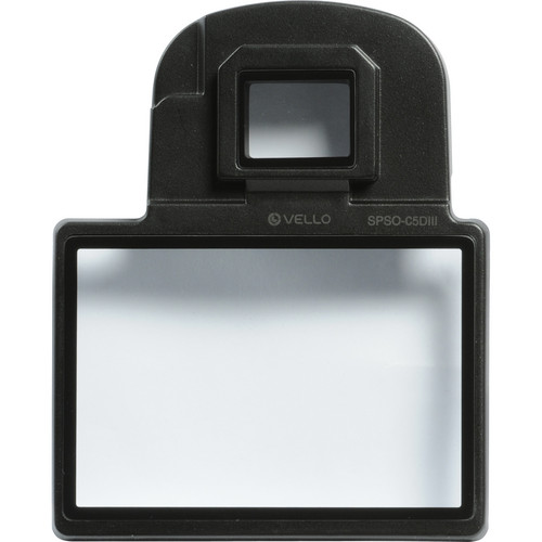 Vello Snap-On Glass LCD Screen Protector for Canon 5D Mark III, 5DS & 5DS R