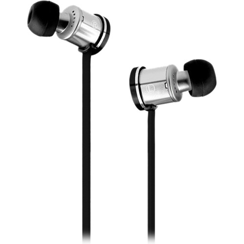 Velodyne vPulse In-Ear Stereo Headphones with Mic/Remote (Classic Black)