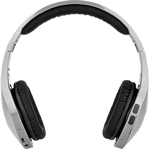 Velodyne vFree On-Ear Bluetooth Headphones (Silver)