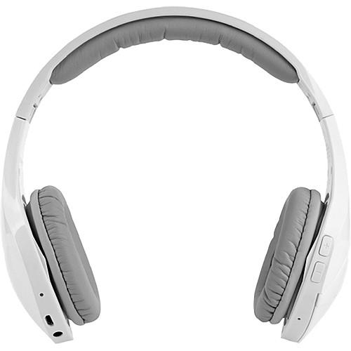Velodyne vFree On-Ear Bluetooth Headphones (White)