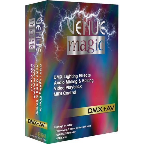 VenueMagic 2.1 Classic DMX + AV Control Software