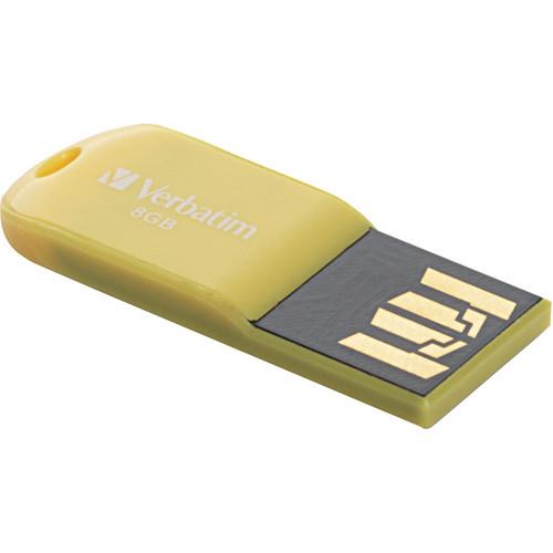 Verbatim 8GB Store 'n' Go Micro USB Drive Sunkissed Yellow
