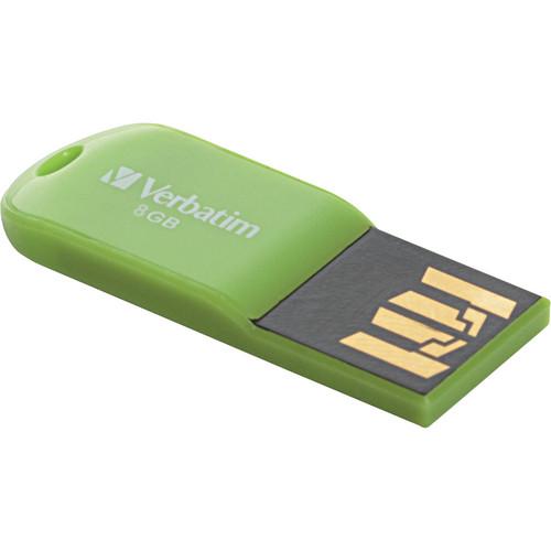 Verbatim 8GB Store 'n' Go Micro USB Drive Eucalyptus Green