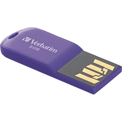 Verbatim 8GB Store 'n' Go Micro USB Drive Violet
