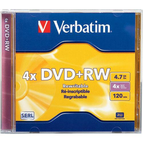 Verbatim DVD+RW 4x Disc (1)