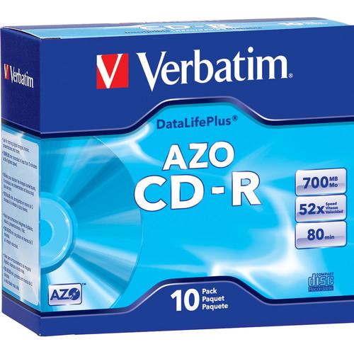 Verbatim CD-R 700MB DataLifePlus Disc (10)