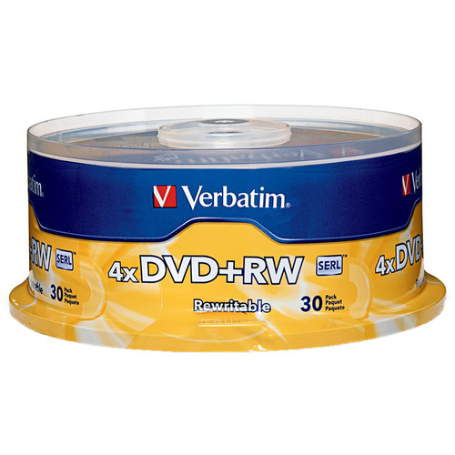 Verbatim DVD+RW 4x Disc (30)