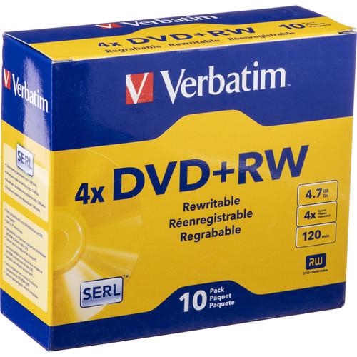 Verbatim DVD+RW 4x Disc (10)
