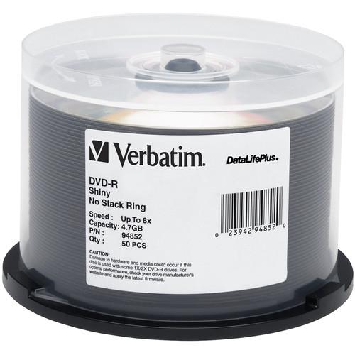 Verbatim DVD-R 4.76GB 8X DataLifePlus (50)