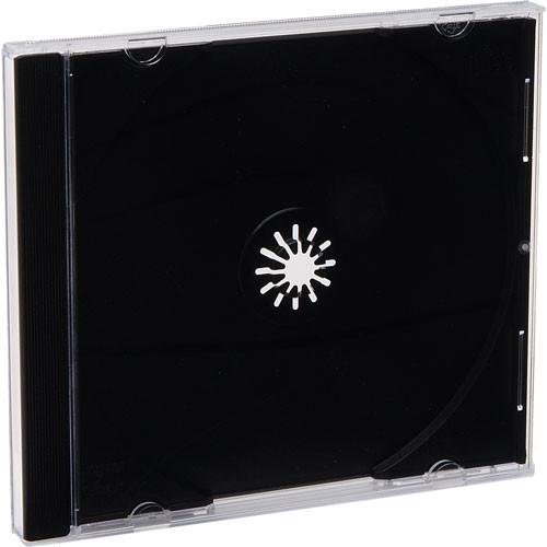 Verbatim CD/DVD Black Storage Cases (200)