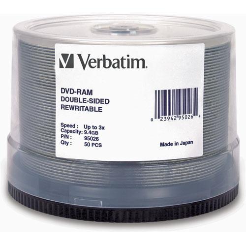 Verbatim DVD-RAM 9.4GB Disc (50)