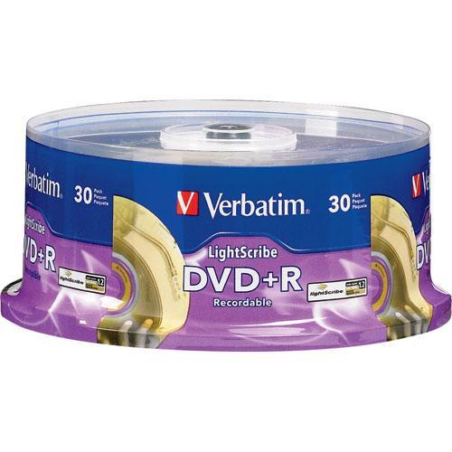 Verbatim DVD+R LightScribe 16x (30)