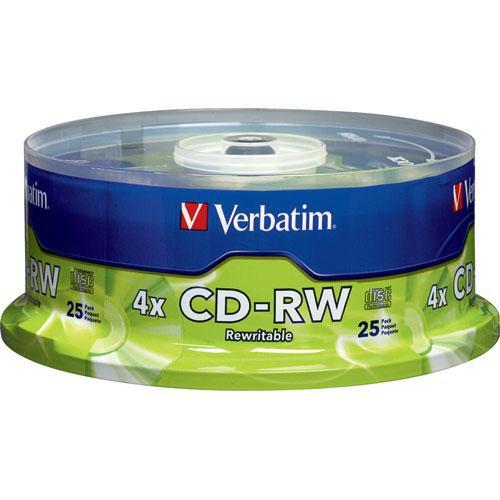 Verbatim CD-RW 700MB Discs (25)