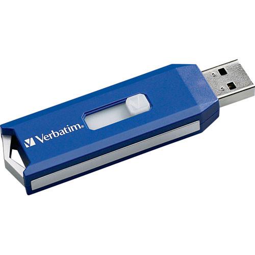 Verbatim Store 'n' Go PRO USB Flash Drive (4GB, Blue)